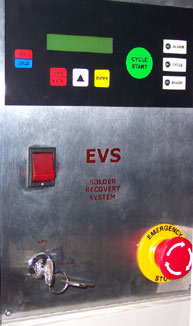 EVS Solder Recovery Panel